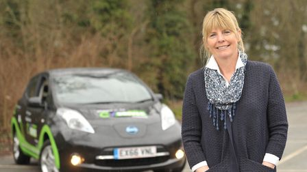 Linda Grave from EV Driver. Picture: SARAH LUCY BROWN