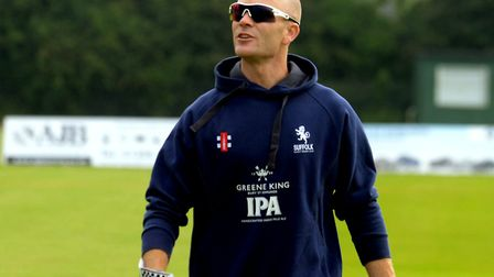 Suffolk cricket coach Andy Northcote. Picture: ANDY ABBOTT