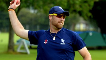 Tom Huggins will be on the Suffolk cricket coaching staff this season. Picture: ARCHANT