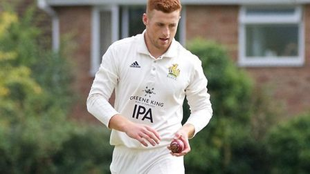 Dom Manthorpe in action. He's signed a summer contract with the MCC Young Cricketers. Picture: APRIL