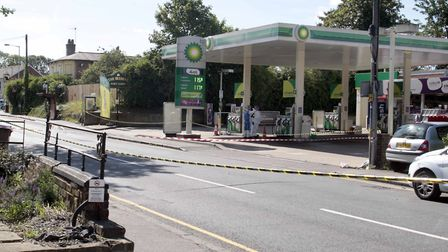 John Pordage was fatally wounded at the BP Garage in Baddow Road, Chelmsford. Picture: NIGE BROWN.
