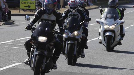 Take part in the charity motorbike run this weekend. Picture: NIGEL BROWN