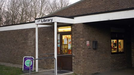 Kedington Library where opening hours could change. Picture: TUDOR MORGAN- OWEN