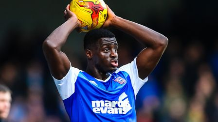 Josh Emmanuel has been on loan at Rotherham this season. Picture: STEVE WALLER