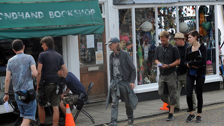 Filming for 'Detectorists' in Framlingham has helped boost Suffolk's economy. Picture: PHIL MORLEY