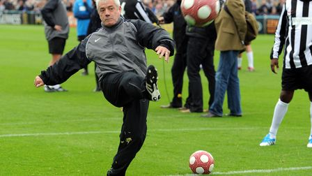 Kevin Keegan who will be guest speaker at AFC Sudbury's sportsman's dinner next month. Photo: OWEN H