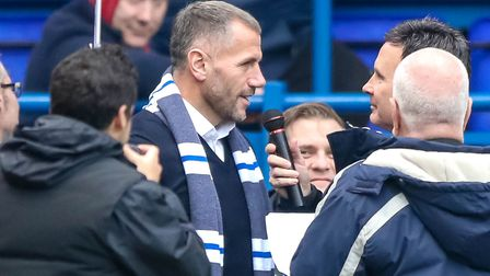 Former Ipswich Town striker Shefki Kuqi would like to be the club's. Picture: Steve Waller