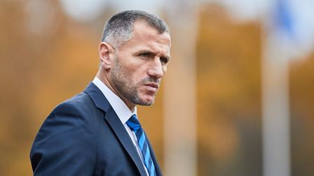 Kuqi has attended a number of Ipswich games in the last month. Picture: INTER TURKU