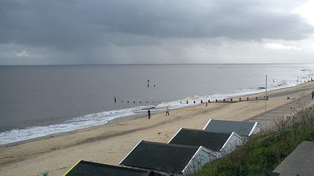 A cloudy day over Southwold. Picture: ALISON CONNORS