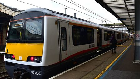 Greater Anglia services have been cancelled or delayed after a person was hit by a train in Essex. P
