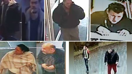 Essex Police have released images as part of appeals to help solve a number of crimes. Picture: SUPP