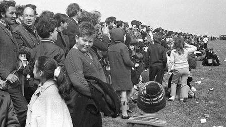 Were you among the crowd at the RAF Bentwaters open day in 1970? Picture: JOHN KERR