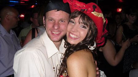 Dan Turner and his late fiancée Michelle Dring. Picture: DAN TURNER