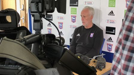 Ipswich Town manager Mick McCarthy. Picture: NEIL PERRY