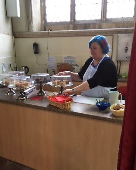 Jo Searle -manager at the Bridge Project Caf� at St Peter�s
