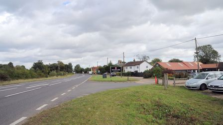 The new route would leave the A12 near the Marlesford Farm Cafe. Picture: SARAH LUCY BROWN