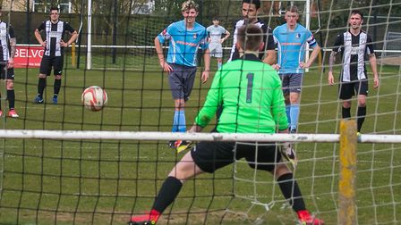 Carlos Edwards' other goal was a penalty! Picture: PAUL LEECH