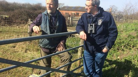 Jonathan Smith, who was Essex Wildlife Trust's Tollesbury Wick manager for many years, with trust me