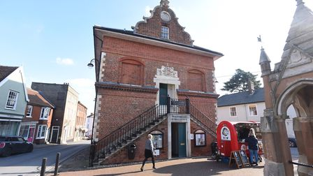 The Shire Hall in Woodbridge. Picture: GREGG BROWN