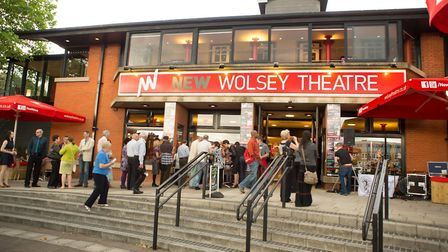 The New Wolsey Theatre in Ipswich. Picture: MIKE KWASNIAK