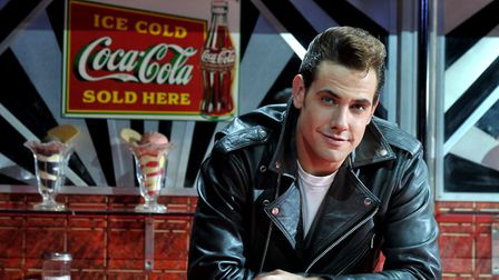 Dress rehearsal for the production of Grease, at the Ipswich Regent. . Danny Bayne (Danny)