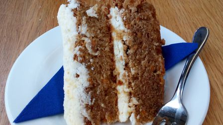 Carrot cake. Picture: Charlotte Smith-Jarvis