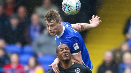 Adam Webster insists the Ipswich Town players are still giving their all. Picture: STEVE WALLER