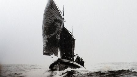 The Alfred Corry Liefboat at sea in 1896. Picture: ANDY DARNELL