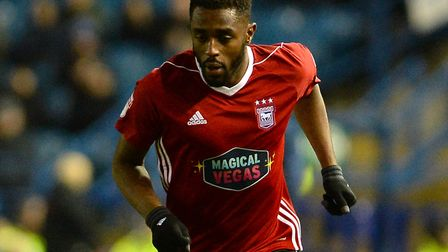 Mustapha Carayol on the wing at Hillsborough Picture Pagepix