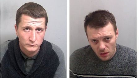 George Robinson (left) and Jimmy Stevens (right) Picture: ESSEX POLICE