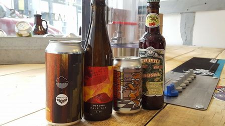 Hopsters in Ipswich is hosting a vegan beer night with pizza at K Bar. Picture: Ed Barnes