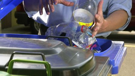 The campaign aims to educate homeowners on what can and cannot be recycled. Picture: BILL DARNELL