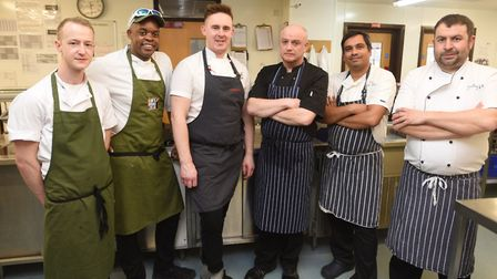 EAT Suffolk Food and Drink Awards Chef of the Year cook off. Picture: GREGG BROWN