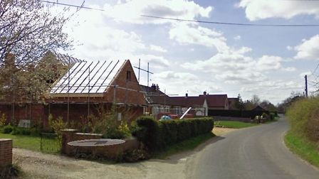 The burglary is reported to have happened in Sandy Lane, Barningham. Picture: GOOGLE