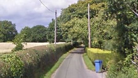 Hazel Shrib Road, Belntley, where the fire broke out. Picture: GOOGLE