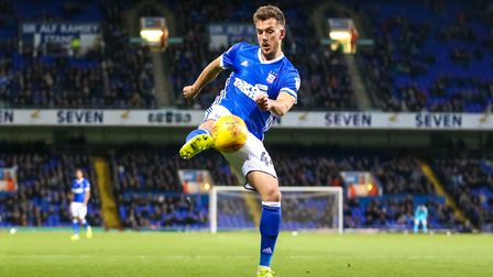 Emyr Huws has had his season ruined by injury. Picture: STEVE WALLER