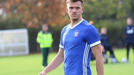 Huws has played just five first team games this season. Picture: ROSS HALLS