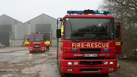 Essex County Fire and Rescue Service attended (file image) Picture: ARCHANT