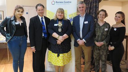 The Kernos Centre in Sudbury celebrated its 15th birthday with guests James Cartlidge MP and mayor S