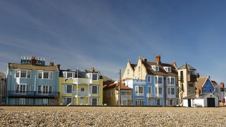 Aldeburgh is also dominated by second homes. Picture: GETTY IMAGES