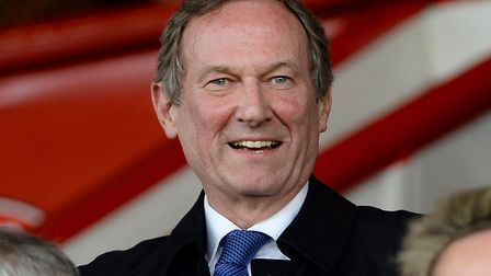 Ian Milne at the Brentford v Ipswich match Picture Pagepix