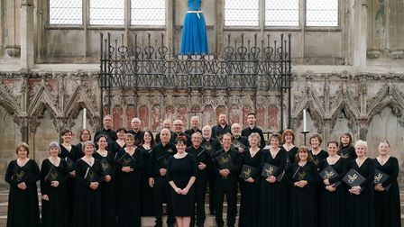 The Suffolk Singers will be performing at St Mary's Church in Hadleigh. Picture: JAMES BILLINGS