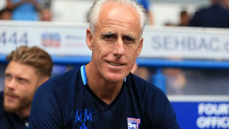 Mick McCarthy, with a smile on his face