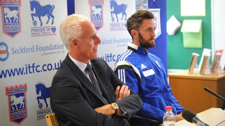 Cole Skuse has paid tribute to departed Ipswich Town boss Mick McCarthy.