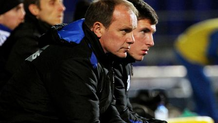 Klug, sat with Nash during an FA Youth Cup game against Sunderland.