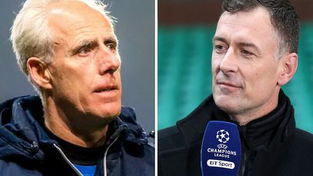 Chris Sutton has had his say on Mick McCarthy's departure from Portman Road. Picture: PA