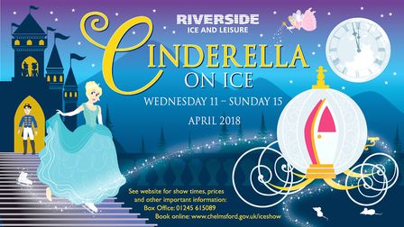 See Cinderella on ice this weekend. Picture: CHELMSFORD CITY COUNCIL