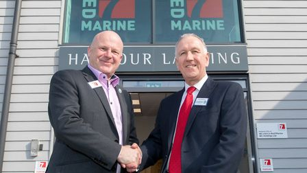 Marine services company Red7Marine has opened its new head office at Harbour Landing, Fox's Marina,