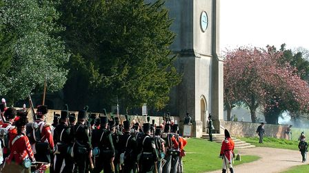 The Battle of Waterloo event at Ickworth has been rearranged. Picture: JOHN GOLDSMITH