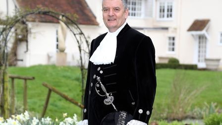 The 838th High Sheriff of Essex, Bryan Burrough. Picture: ESSEX COMMUNITY FOUNDATION